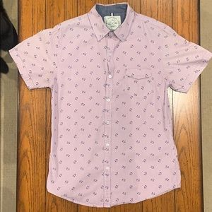 Native Code Short Sleeve Button Down